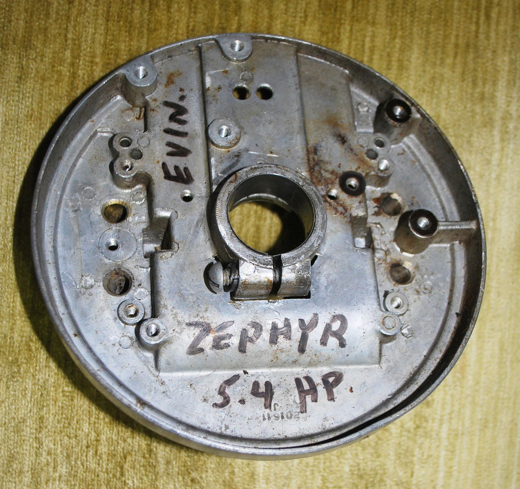 1946 Evinrude Zephyr 5 4 HP Outboard Parts