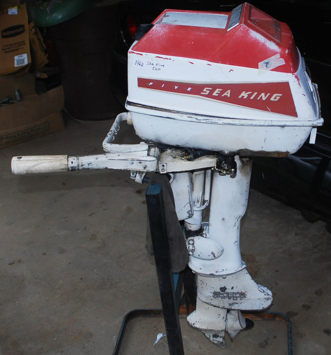 1962 Sea King 5 Hp Outboard Motor Parts